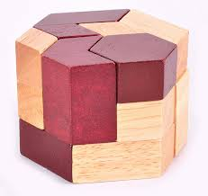 Wooden Games For Adults Geometric Shape IQ Wooden Brain Teaser Puzzle Game for Adults 51