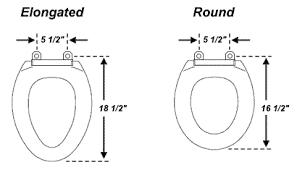 elongated bowl toilet dimensions. elongated - heated. toilet seat measurement size bowl dimensions