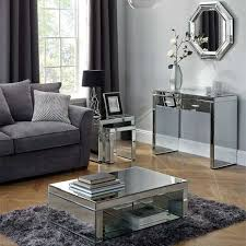 living room with mirrored furniture. Living Room With Mirrored Furniture