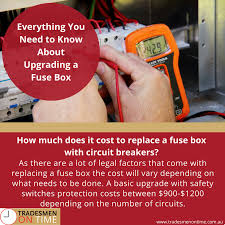 everything you need to know about upgrading a fuse box chris how much does a fuse box cost for a car how much does it cost to replace a fuse box with circuit breakers?