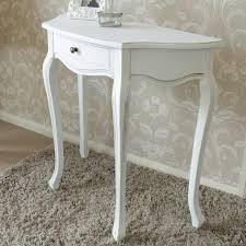 half moon table classic white range melody maison with remodel 1