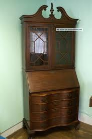 antique secretary desk with bookcase antique writing desk