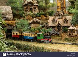 garden railroad in the franklin park conservatory and botanical garden in columbus ohio