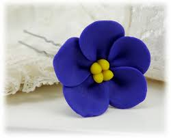 african violet hair pins african violet hair clips stranded treres