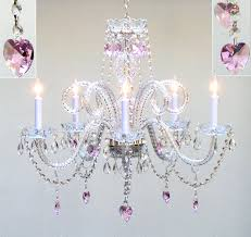 crystal chandelier baby girl room teenage lighting little girls and nursery black edit us with lamp create an adorable for your fabric chandeliers kid
