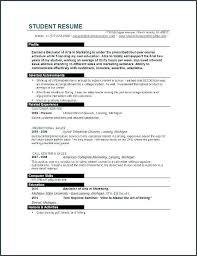 Resume Templates College Student College Student Resumes College Student Resumes And Student