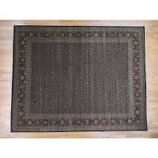11 10 x15 hand knotted herati all over design pure wool oversize