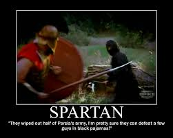 Spartan Quotes Interesting Spartan Motivational By Hailtothechimp On DeviantArt