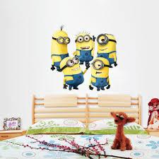 Minions Wallpaper For Bedroom Aliexpresscom Buy Art Design Cartoon Despicable Me 2 Minions
