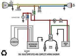 wiring diagram question about fuses welcome to the xs 650 garage usa when you cut power to it the bike will die which cuts power to everything else below is the modified diagram which is basically how my bike is wired