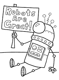Small Picture Printable robot coloring pages for boys ColoringStar
