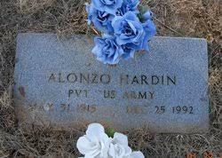Alonzo Hardin (1915-1992) - Find A Grave Memorial