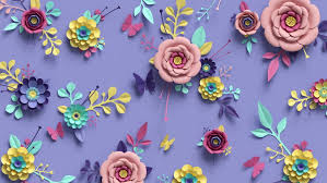 Paper Flower Video 3d Rendering Animation Of Floral Stock Footage Video 100 Royalty Free 1011557303 Shutterstock