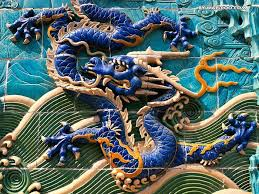 ancient chinese dragon wall chinese traditional architecture culture 14