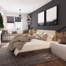 Schlafzimmergestaltung Farben Dachschräge Hirsch Bettwäsche Ständig
