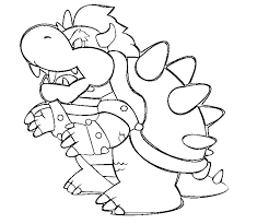 Mario And Luigi Bowser Coloring Pages Peaceful Coloring Page