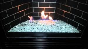 72 most wonderful pebble fire pit gas fireplace glass beads two throughout rocks remodel 19