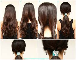 quick and easy hairstyles for long hair to do at home quick hairstyle for long hair