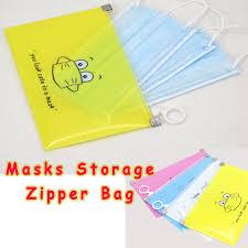 <b>Cute</b> Dustproof Antibacterial <b>Mask Storage Bag</b> Portable <b>Masks</b> ...
