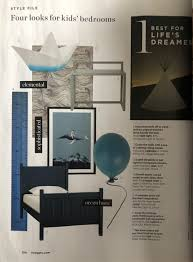 Ferm Living Height Chart Seascape Wallpaper In Living Etc Abigail Edwards Hand