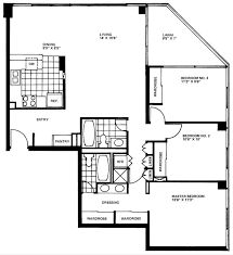 Floor Plan 2 Bedroom Apartment On Bedroom Regarding Apartment Floor Plans 3