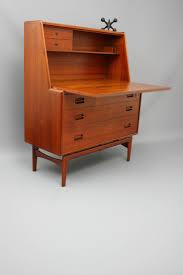 stunning mid century original danish drop down desk cabinet sideboard designed by arne hovmand