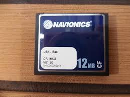 Navionics Gold Chart Cartridge Navionics Gold Cf Chart Card Usa East Cf 16xg 512mb V01 20 Tested Working