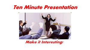Bni Infinity Training Session 10 Minute Presentation Tips Youtube
