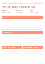 Customize 66 Weekly Report Templates Online Canva