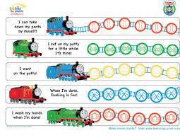 Thomas Friends Potty Training Chart Potty Training Concepts