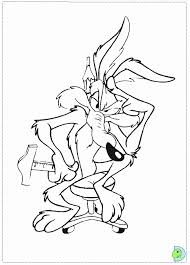 Small Picture Cartoon Coyote Coloring Page Coloring Pages For All Ages
