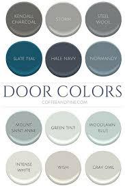 front door paint colors 2Best 25 Painted interior doors ideas on Pinterest  Dark interior