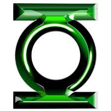 Green Lantern Logo 2 » Emblems for GTA 5 / Grand Theft Auto V