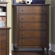 High Quality Liberty Furniture Abbott Ridge Youth Bedroom 5 Drawer Chest