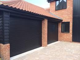 black ral 9011 diy roller shutter garage door