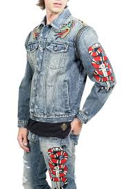 Cult Of Individuality Size Chart Cult Of Individuality Heritage Denim Jacket Nordstrom Rack