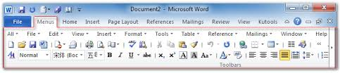 microsoft word menus about office 2010 2013 and 365 menu and toolbar