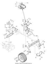 parts diagram for steering