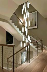 modern hanging stairs chandelier contemporary living room stairwell light fixture staircase new hanging lights staircase hanging modern hanging stair