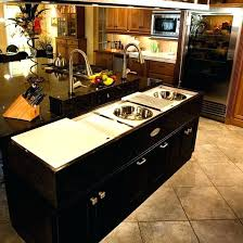 small kitchen island with sink. Kitchen Island Sinks Small With Sink And Dishwasher . I