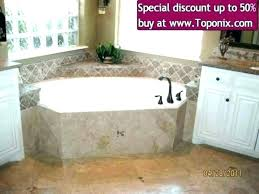 bathtub shower combo remodel ideas tile corner small combination bathroom tubs bathrooms astonishing bath