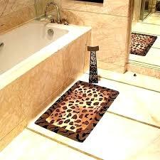 cheetah print rugs animal cheetah print bath rugs