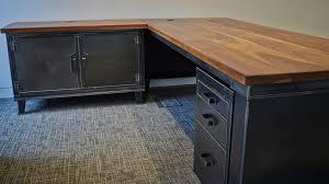 industrial office desk. Plain Industrial Commodore Desk By Steel Vintage Inside Industrial Office U