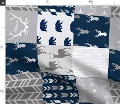 Sugar Pine Design Fabric Amazon Com Spoonflower Fabric By Sugarpinedesign Printed