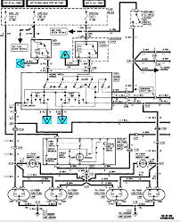 gmc wiring diagram tail lights wiring diagrams and schematics 1994 chevy p u 1500 electrical wiring diagrams tail