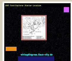 2007 ford explorer starter location wiring diagram 174647 2007 ford explorer starter location wiring diagram 174647 amazing wiring diagram collection