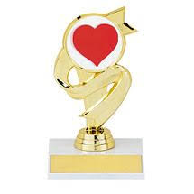 5 1 2 trophy with ribbon design award plaques ribbon design valentines