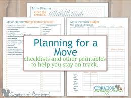 Free Printable Moving Checklist Free Moving Printables