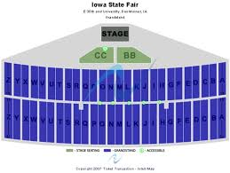 Accurate Iowa State Grandstand Seating Chart Porter County