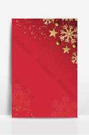 Red Gold Style Minimalistic Christmas Background Design